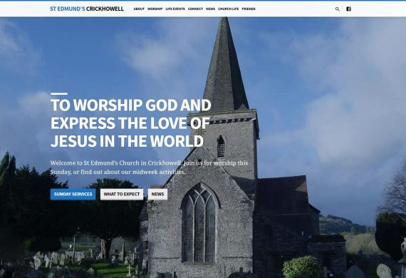 St Edmund's Church Website
