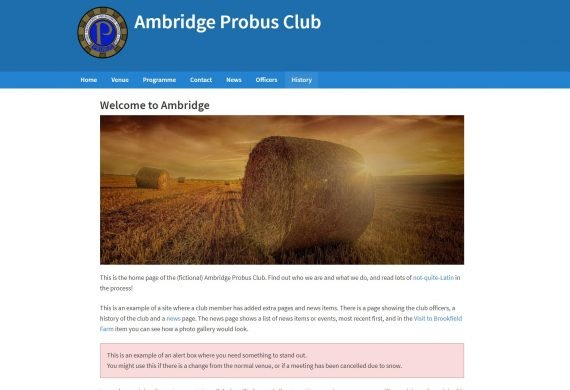 Probus Club Websites