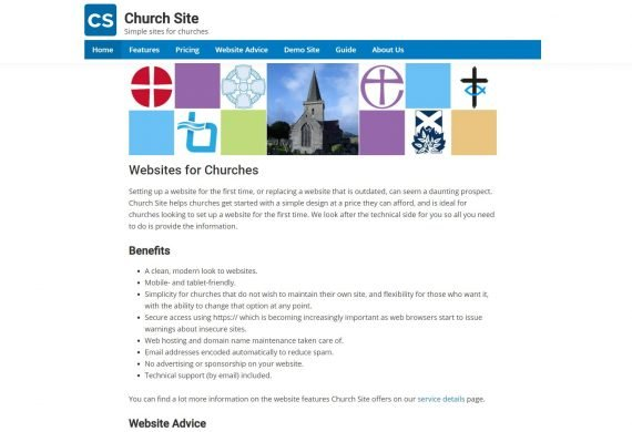 Church Site – Simple Websites for Churches